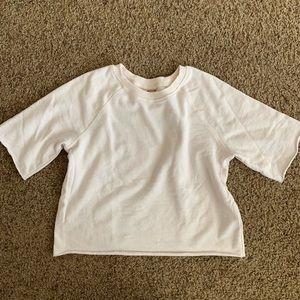Cropped Sweater Shirt